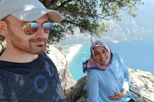 Suami sempat swafoto dengan isteri hamil 7 bulan sebelum menolaknya jatuh dari tebing bukit