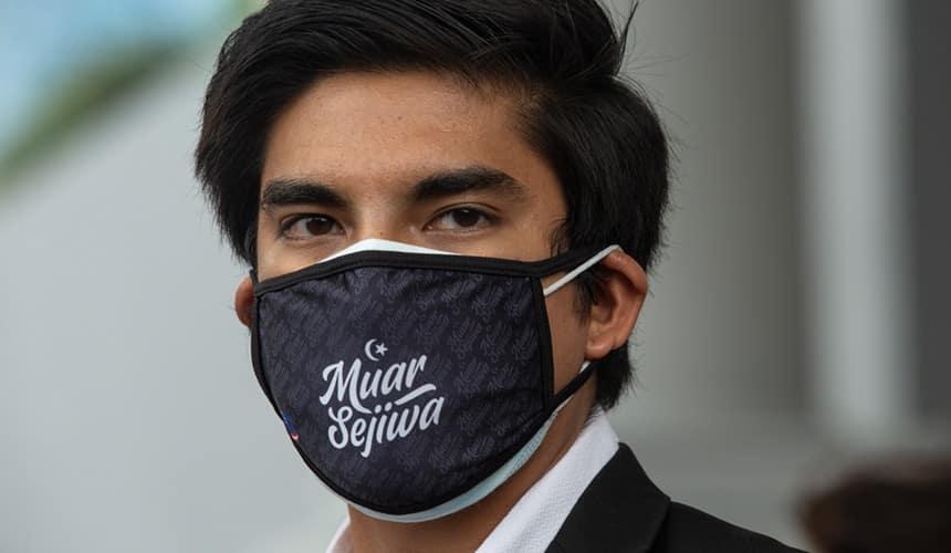 Syed Saddiq berjaya kumpul sumbangan lebih RM700,000 dalam tempoh 24 jam