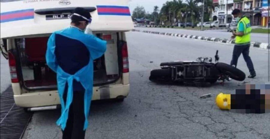 [Video] Polis cari saksi kemalangan depan stesen minyak