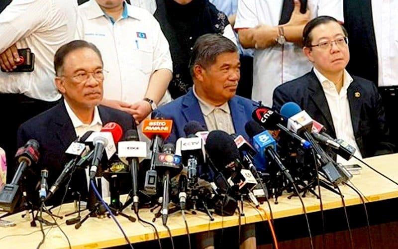 Pemimpin PH jawab dakwaan ketepikan pembangkang lain meterai MoU dengan kerajaan