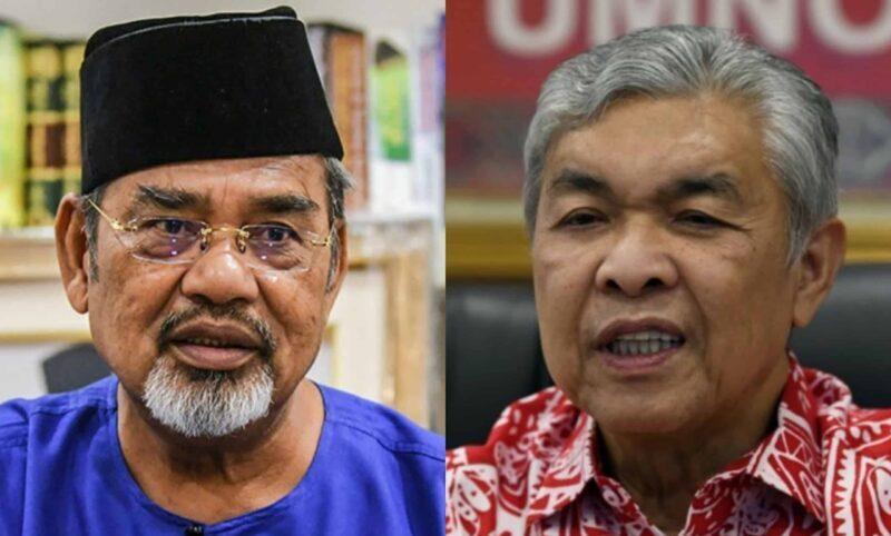 Panas! Tajuddin sedia 'cabar' Zahid, rebut jawatan Presiden UMNO